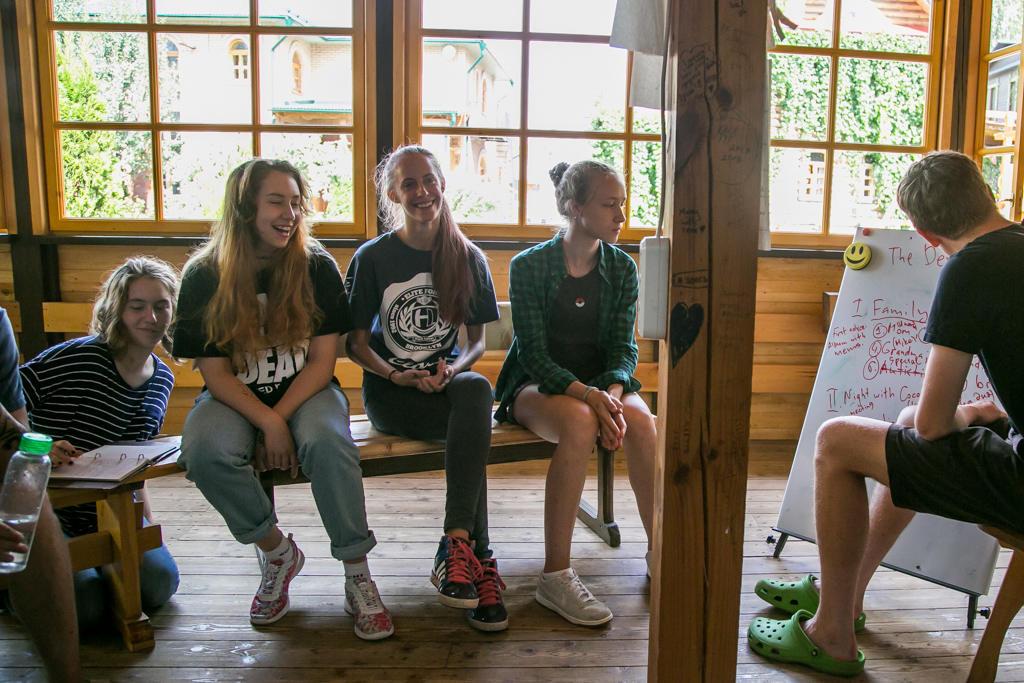 детский лагерь с английским