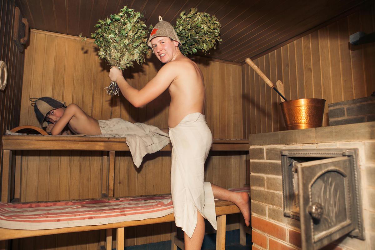 Фото в бане паримся
